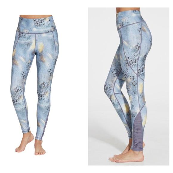 06f3e55abb4a CALIA by Carrie Underwood Pants | Calia Printed High Waist Ruched ...